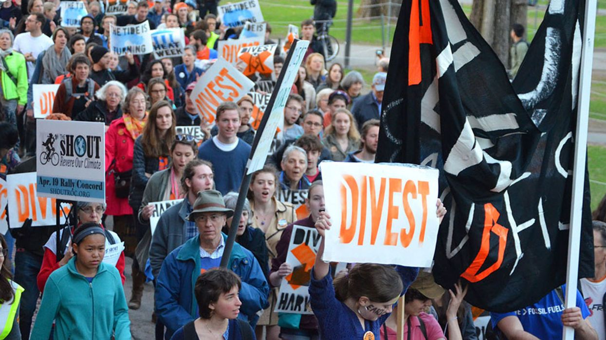 Fossil Fuel Divestment Debates on Campus Spotlight Societal Role of Colleges and Universities