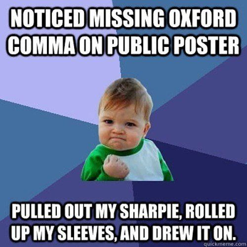 Comma Meme