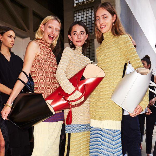 Jil Sander Opens Milan Fashion Week In a Dilapidated Factory