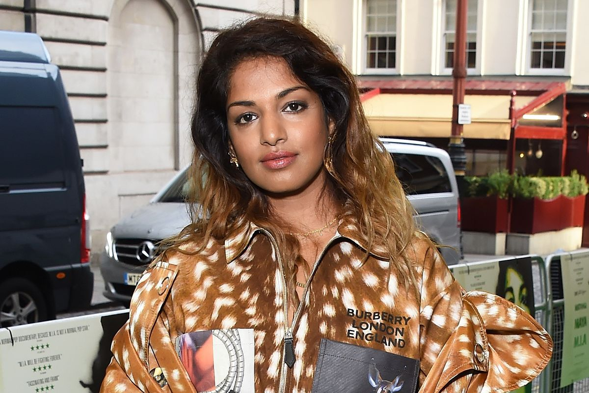 M.I.A. Is Already Wearing Riccardo Tisci's Burberry