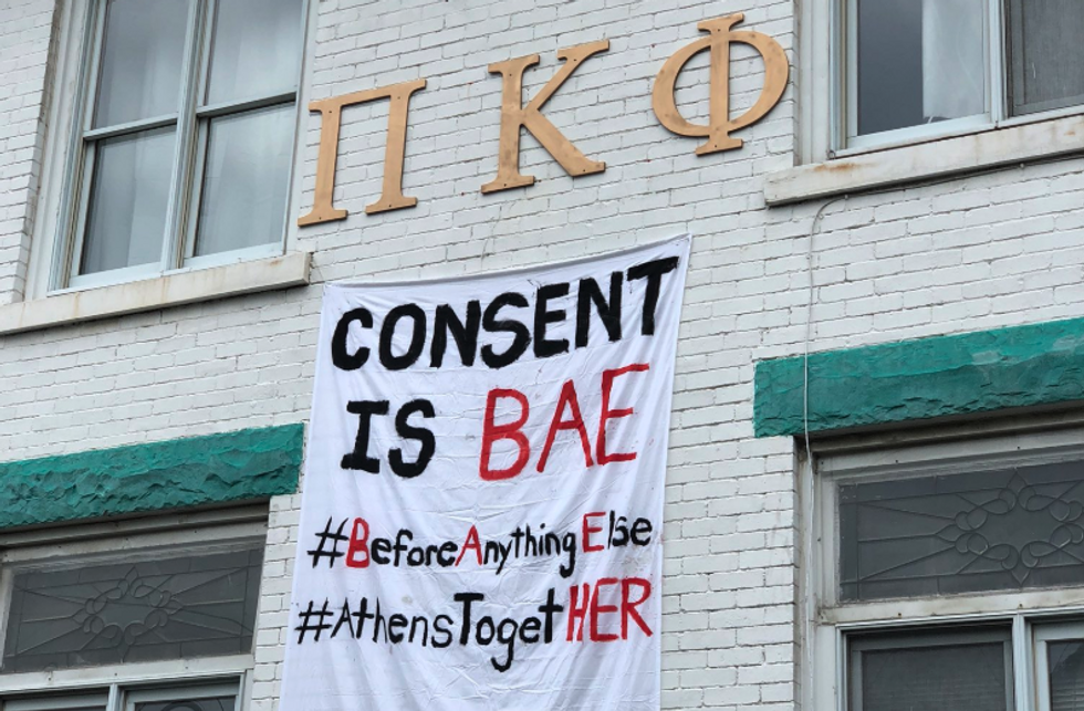 Ohio University Fraternities Go Viral With House Banners Denouncing Sexual Assault, Giving Us Hope In Frat Boys Everywhere