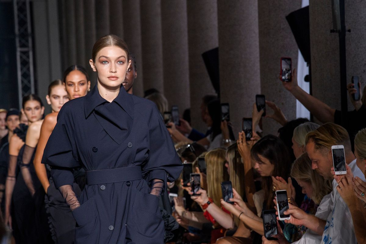 Gigi Hadid Is 'Armed For Adventure' at Max Mara