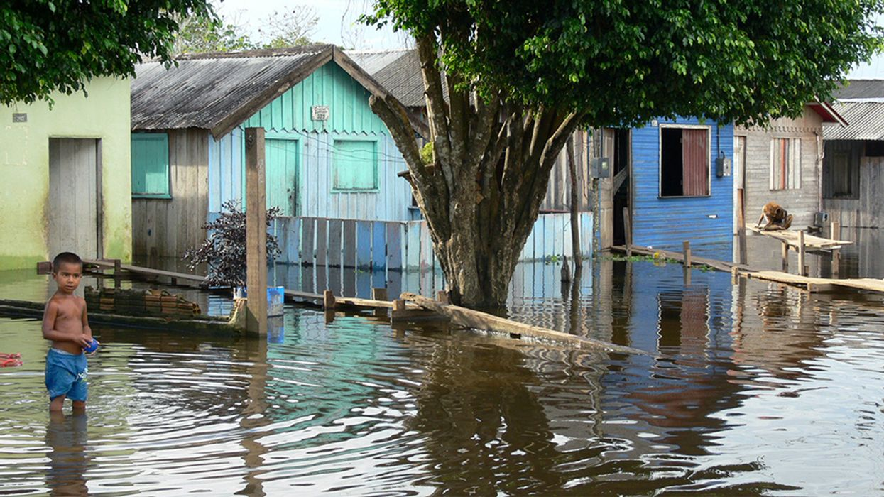 World's Largest River Floods Five Times More Often Than It Used to