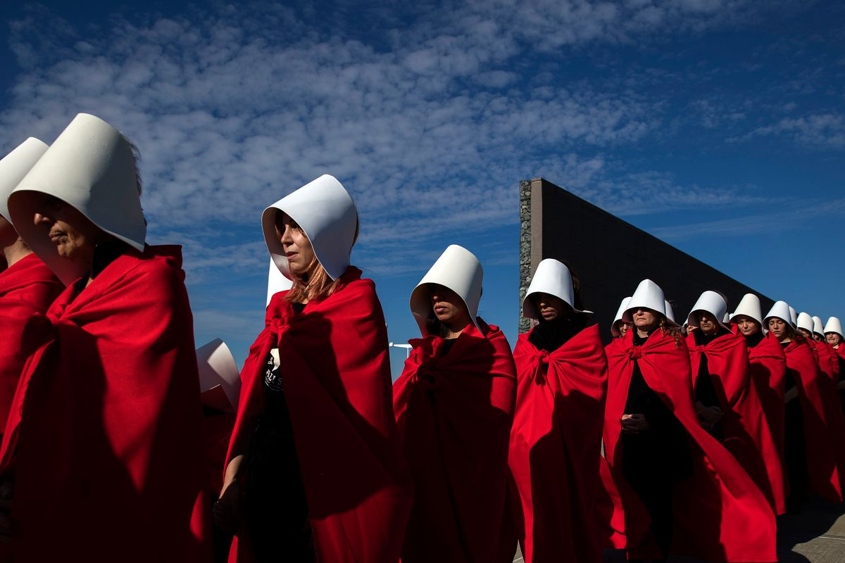 People Were Very Mad at This Sexy 'Handmaid's Tale' Costume
