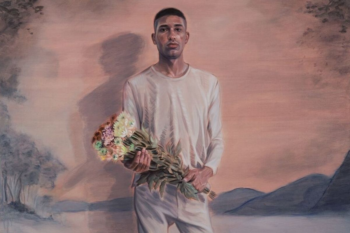 Kris Knight's Paintings of Queer Men Reflect His Own Quiet Nature