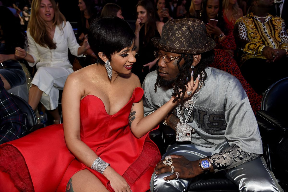 Cardi B Shares First Photo of Secret Wedding to Offset