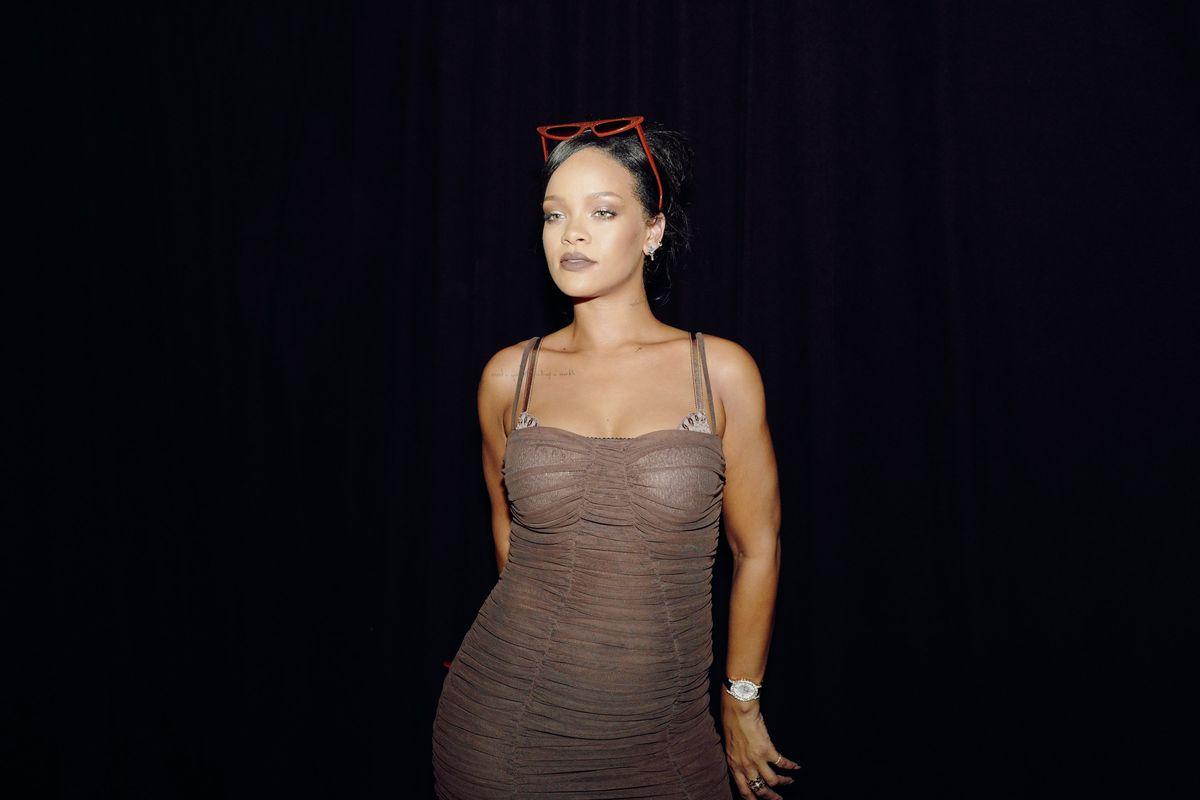 Rihanna Drops Chocolate Brown Lip Paint by Fenty Beauty