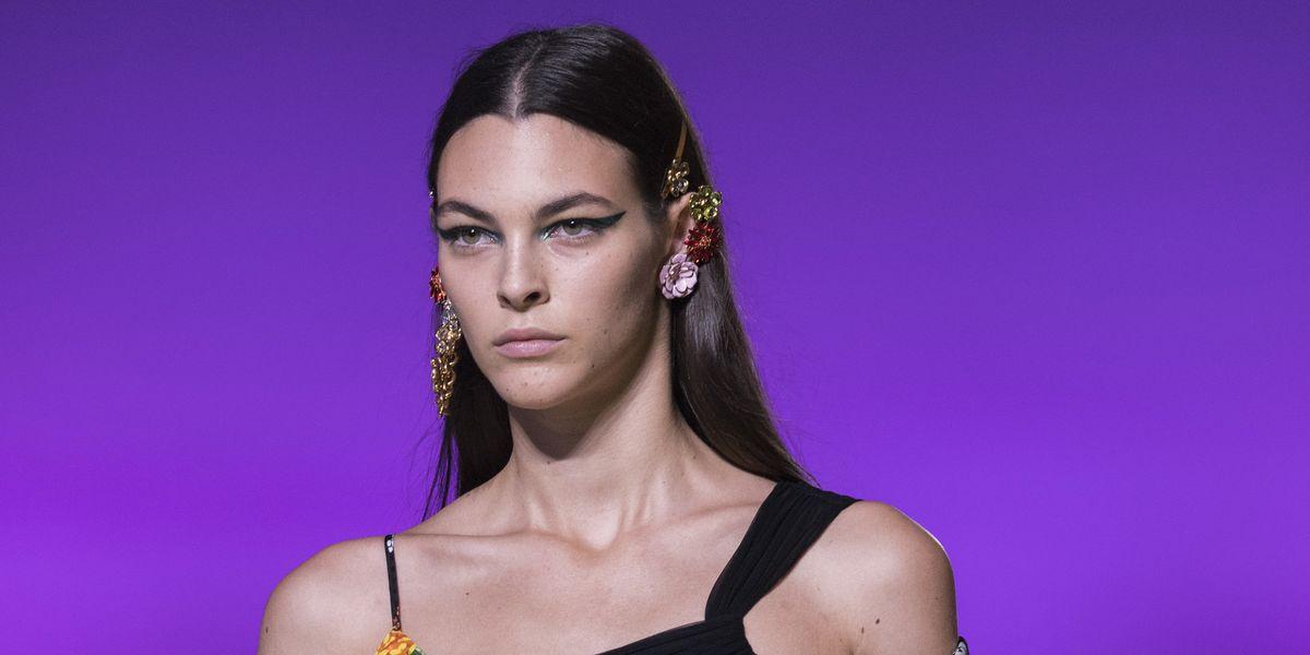 Breaking Beauty: Versace Modernizes the Cat-Eye