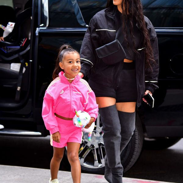 North West Makes Her Runway Debut