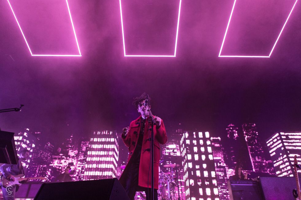 The 1975 live in concert