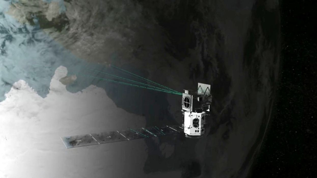 NASA's New Space Laser to Measure Earth's Changing Ice