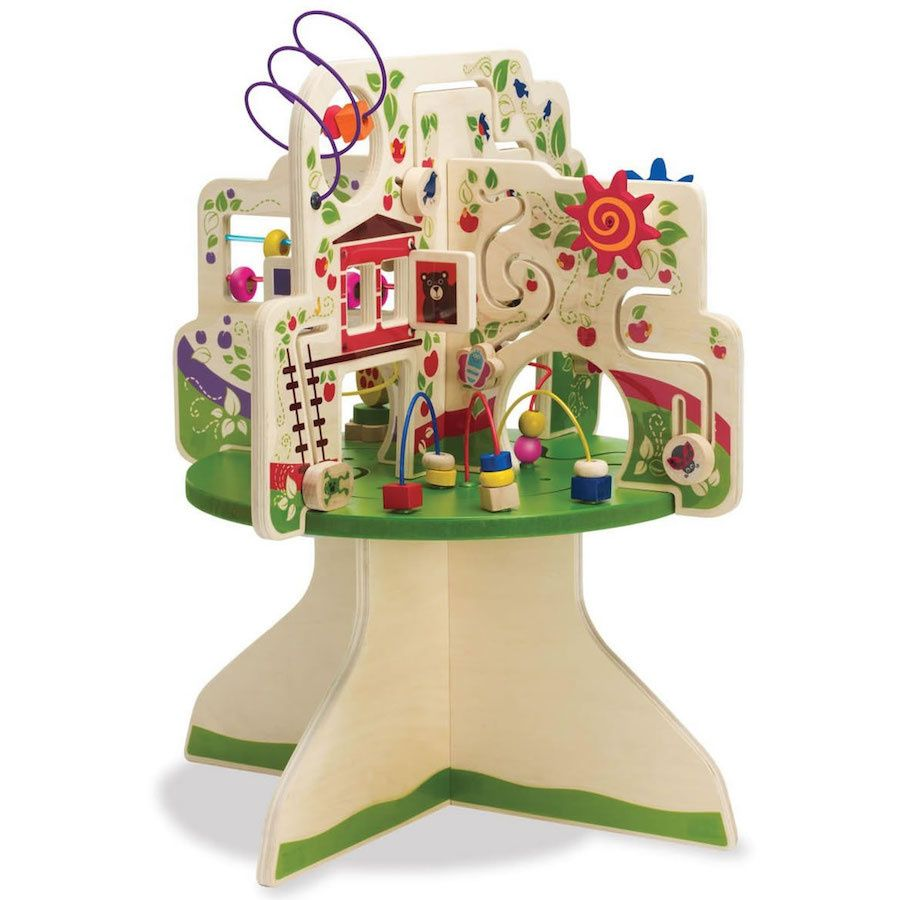 One Year Olds Are Curious And Enjoy Exploring Thats Why We Love Gifting An Activity Table That Encourages Learning Creativity