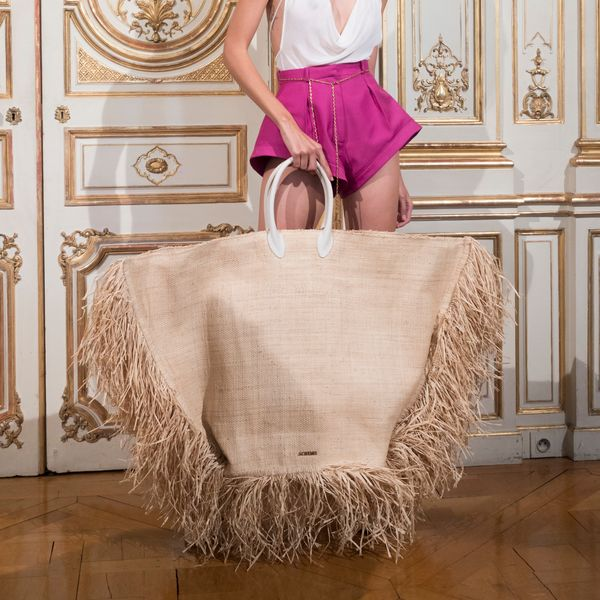 Jacquemus Created the Biggest Beach Bag You've Ever Seen