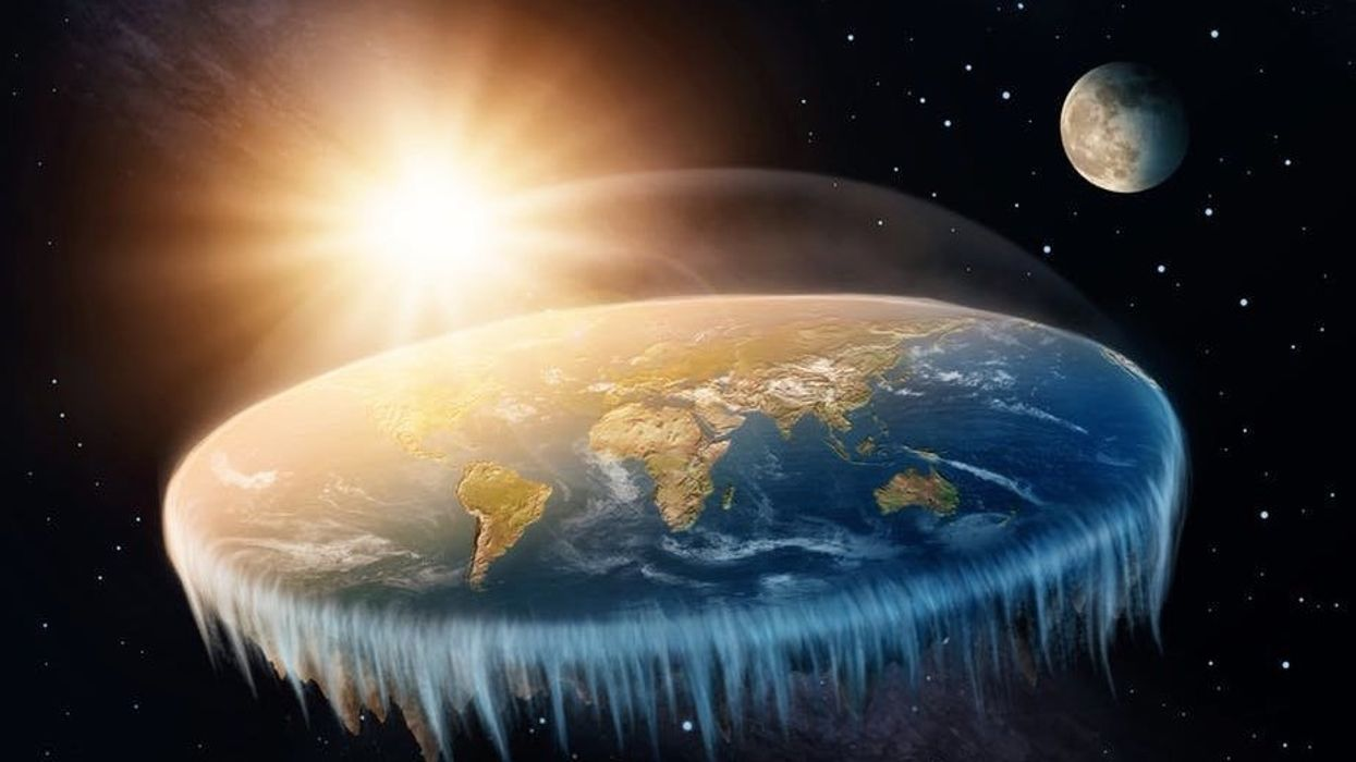 Reality show idea: Make Flat-Earthers search for the world's edge