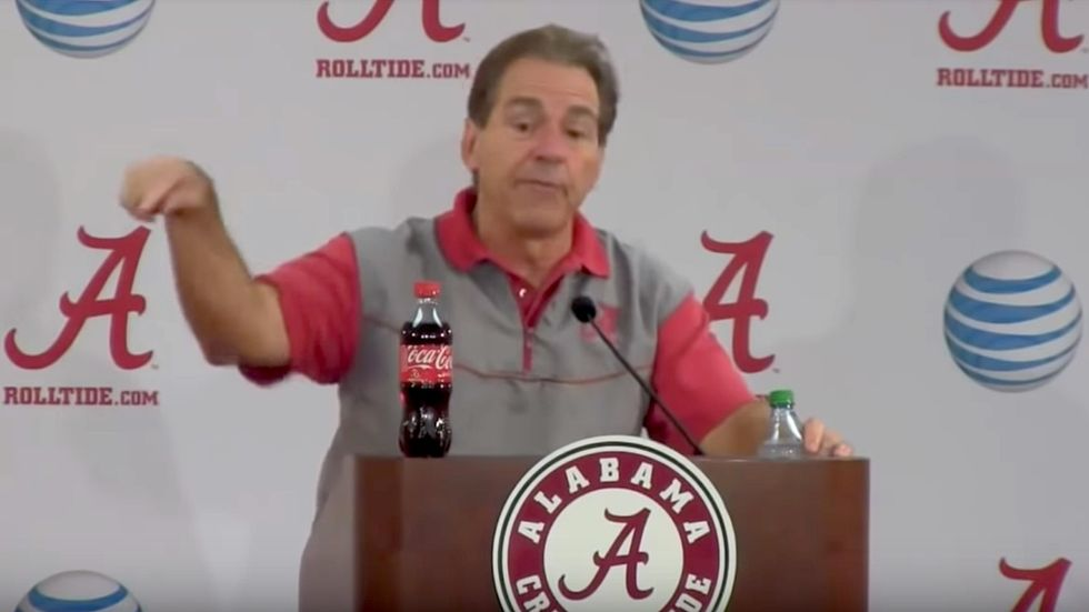 10 Nick Saban Quotes Guaranteed To Tide You OverTill The Weekend