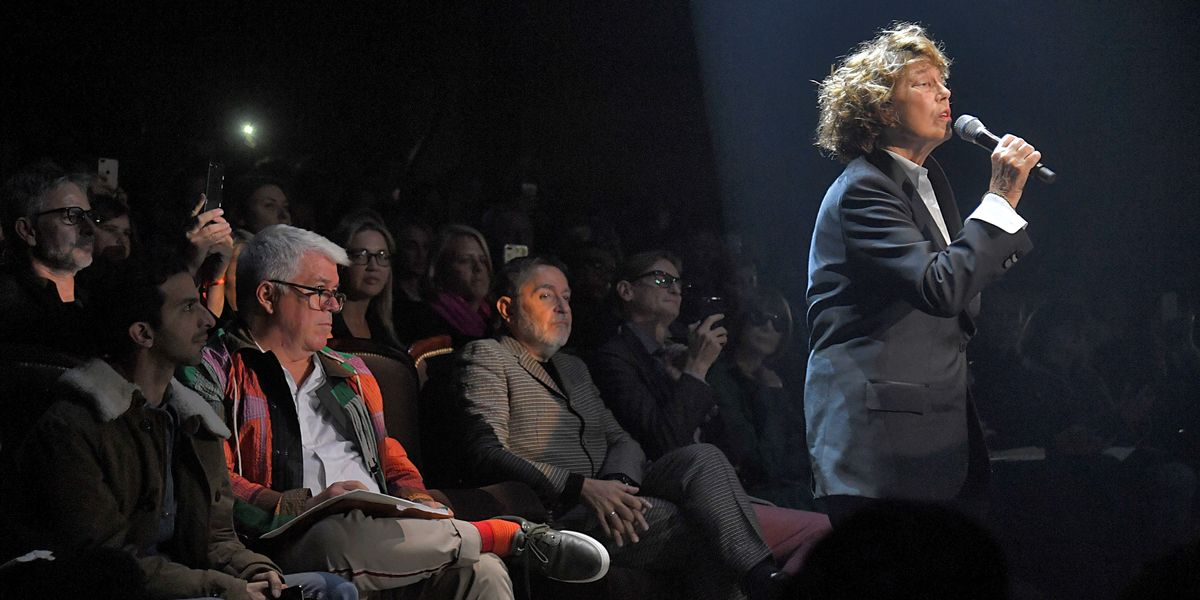 Jane Birkin Makes a Surprise Performance at Gucci