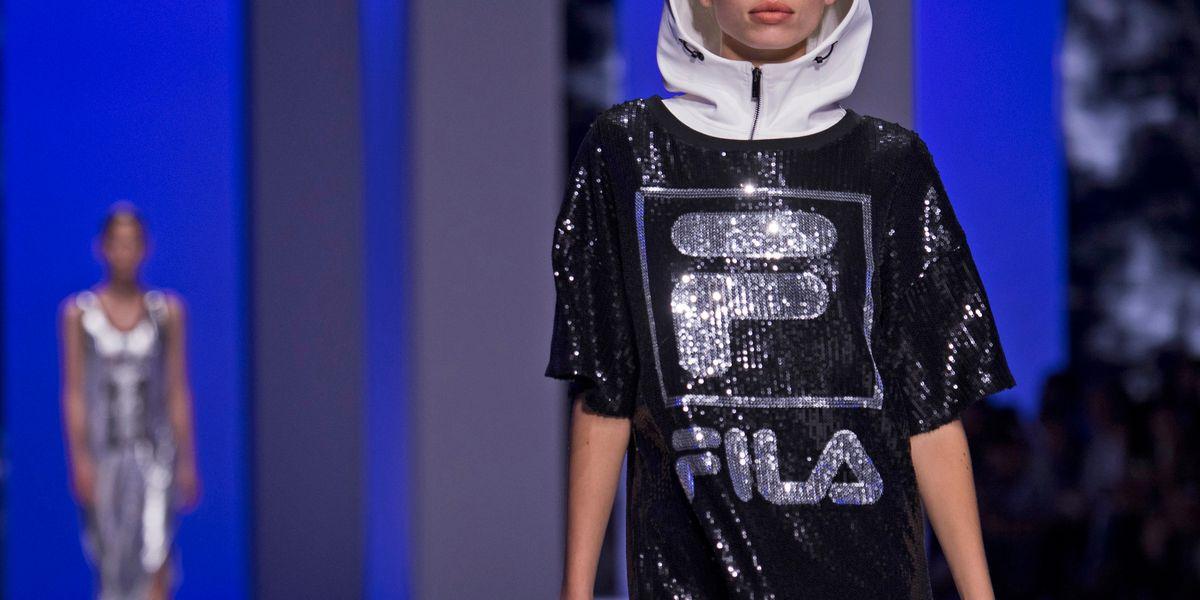 Fila's Glitter Bomb Breakout at Milan Fashion Week