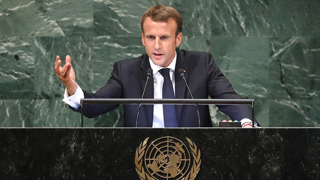French President Rejects Trade Deals With Countries Outside Paris Agreement