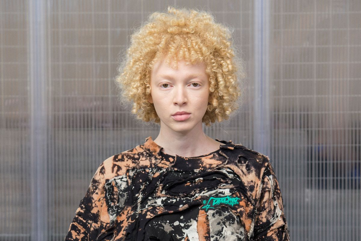 Ottolinger Spring 2019 Was Full of Freezer Bags and Acid Wash