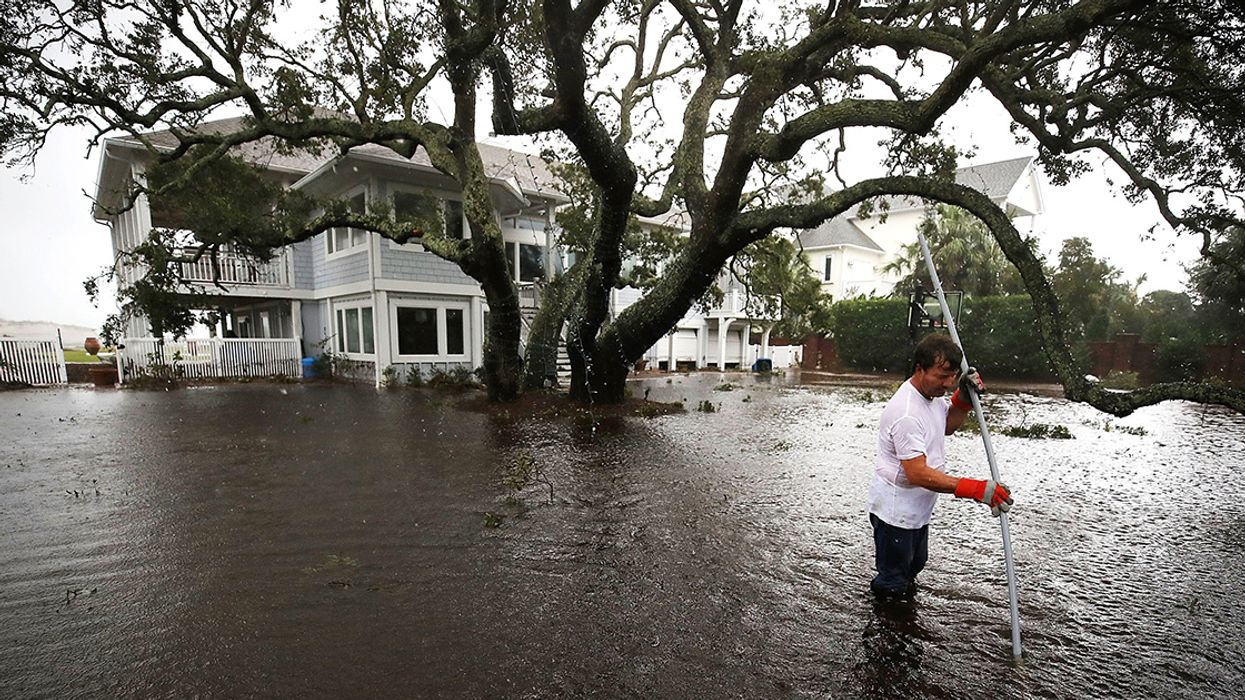 Like Hurricane Florence, Climate Policy Has Dangerously Stalled