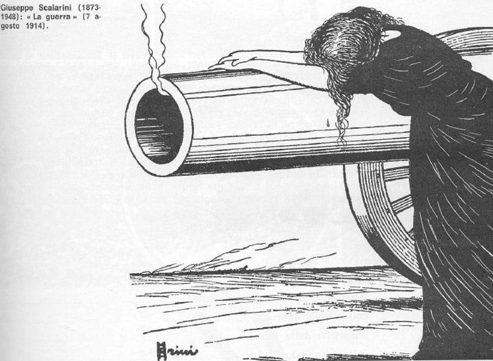 Di fronte alla prima guerra mondiale la sinistra smise di capire il popolo