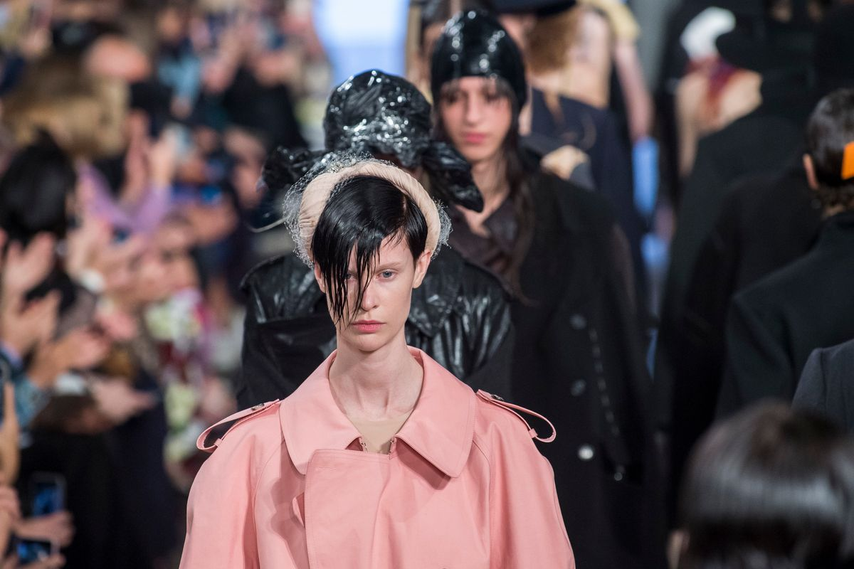 Mutiny Was In the Air at Maison Margiela's First Co-Ed Show