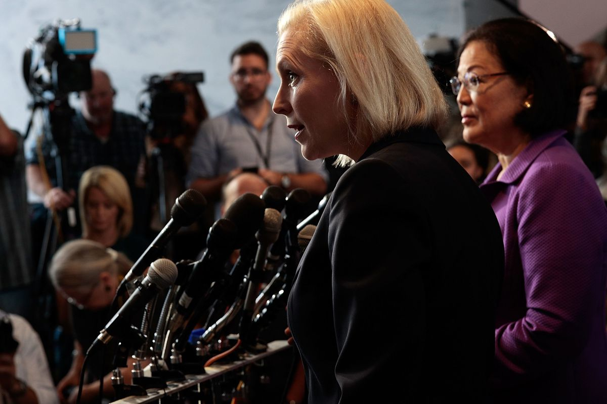 Kirsten Gillibrand: 'We Are Saying That Women Are Worth Less Than A Man's Promotion'