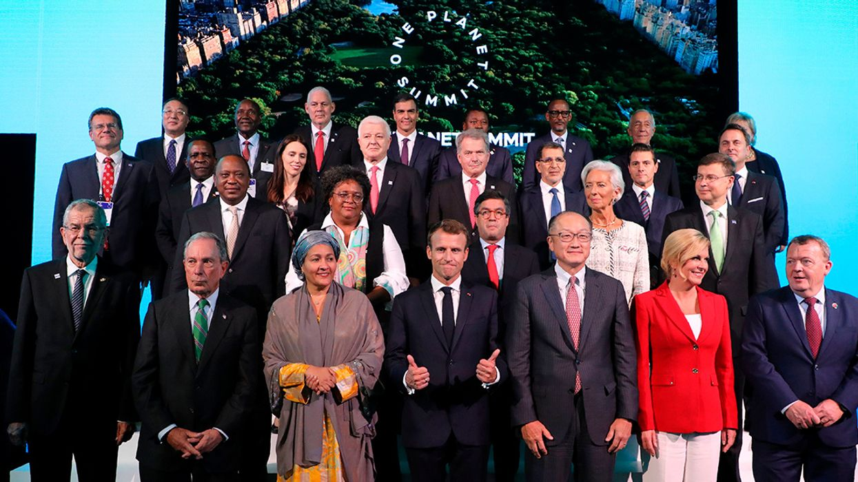 Google, World Bank and EU Among Key Players Pledging Climate Action at One Planet Summit