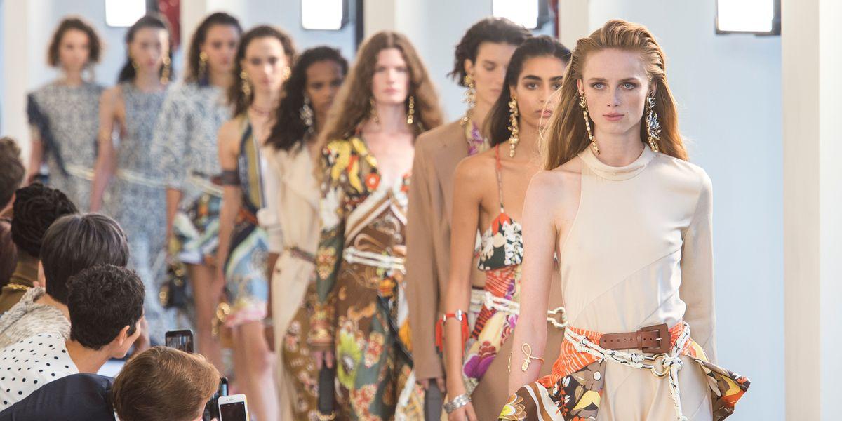 Chloé's Greek Goddesses Took Over Paris Fashion Week