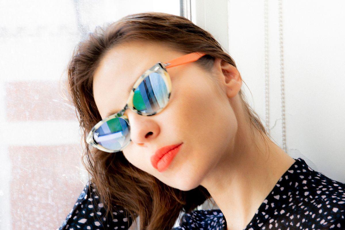 Nina Kraviz and Ray-Ban Reinvent Cat-Eye Shades