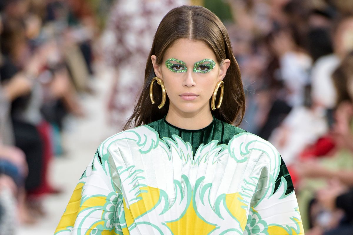 Breaking Beauty: Valentino's Sci-Fi Eyes
