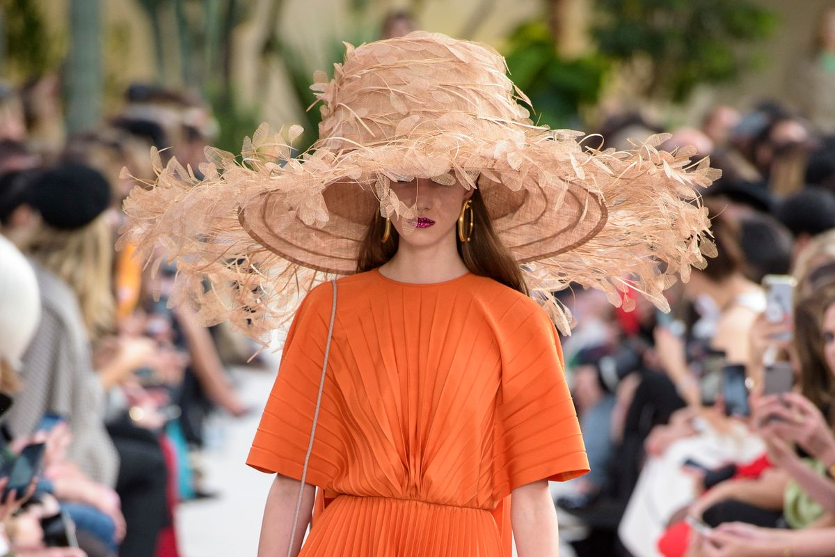 Valentino Ended the Straw Hat Debate