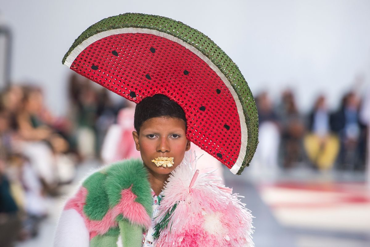 Thom Browne's Big, Bizarre Beach Vacation