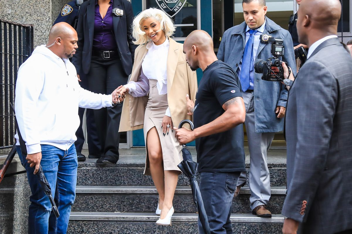 Cardi B Turns Herself In To The Police