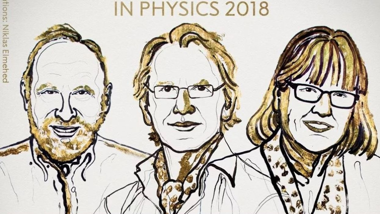 Physics Nobel awarded to Donna Strickland, third woman in history to win