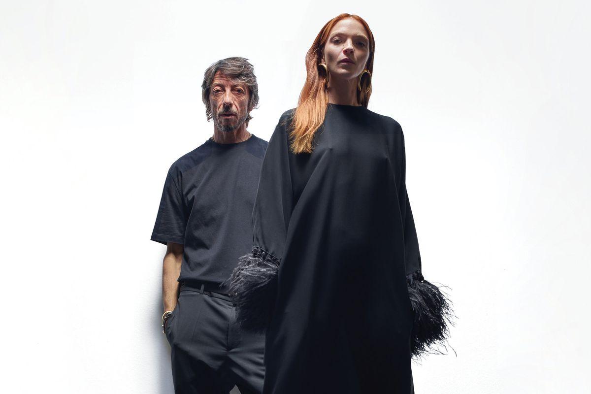 Inspired: Pierpaolo Piccioli With Mariacarla Boscono
