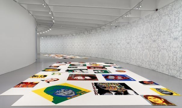 Temporary Exhibit at Hirshhorn