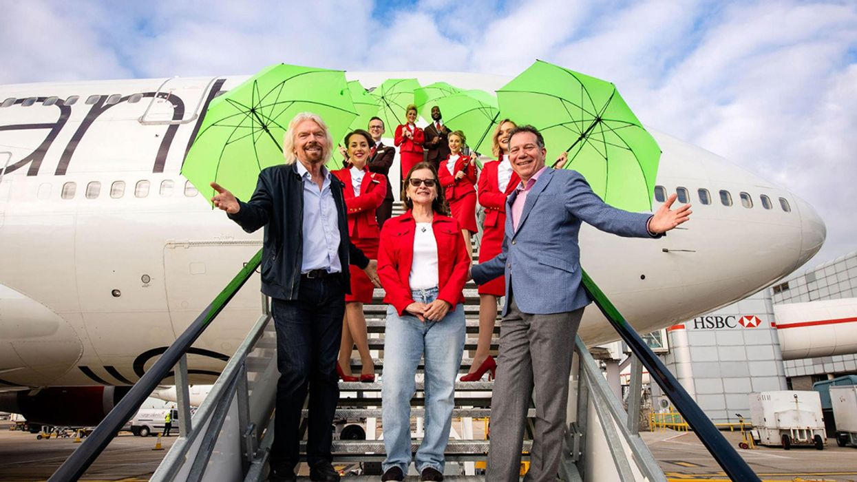 Virgin Atlantic Completes First Commercial Flight on Recycled Waste Gas