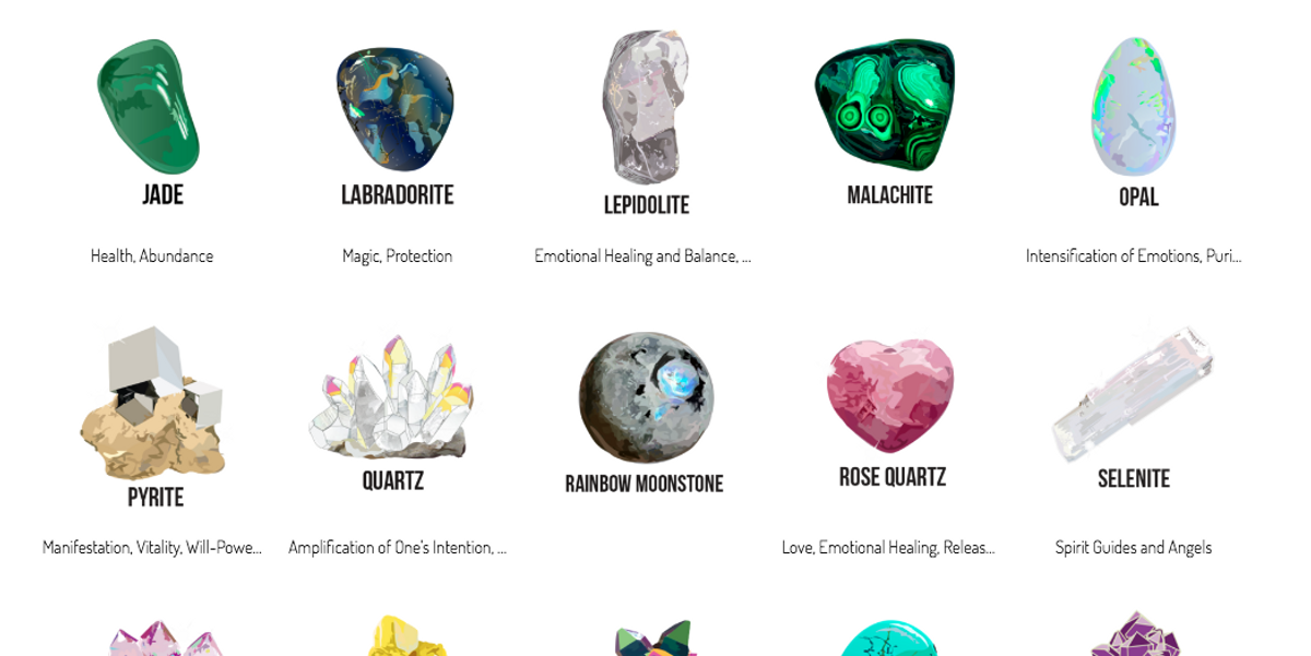 The App That Lets You Send Crystals to Your Friends