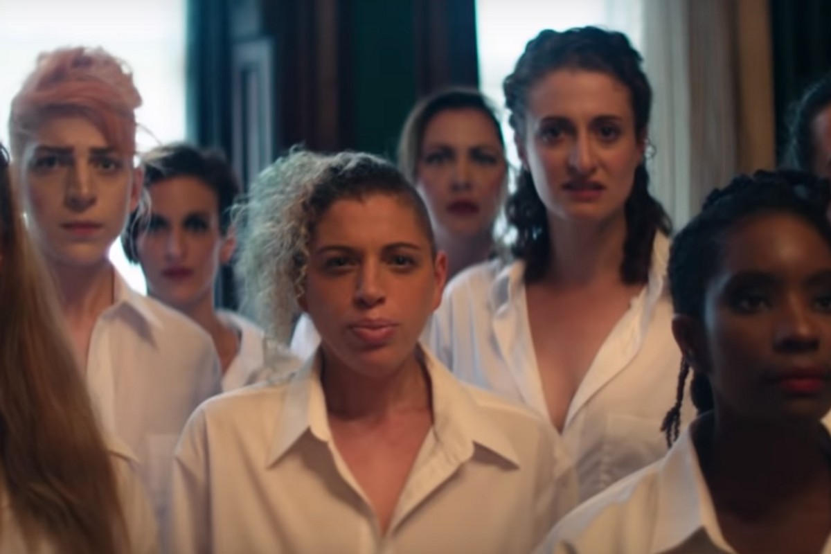 Don't Miss Amanda Palmer's Graphic 'Mr. Weinstein Will See You Now' Video
