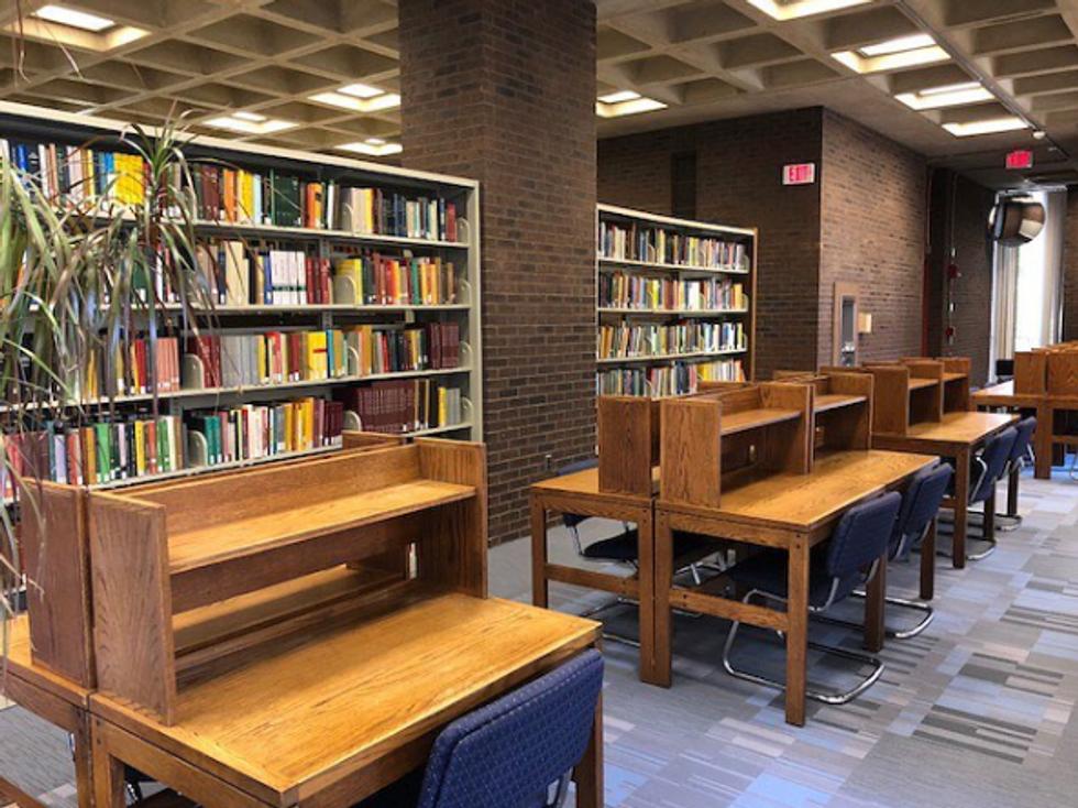 The Math/Physics Library at Rutgers