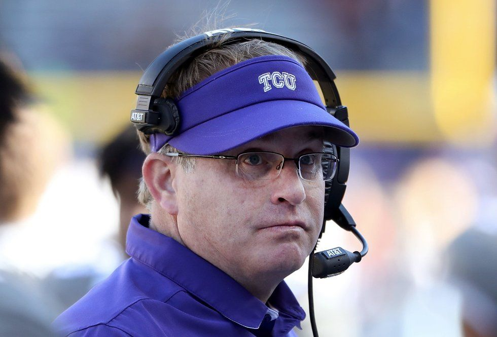 TCU football coach Gary Patterson