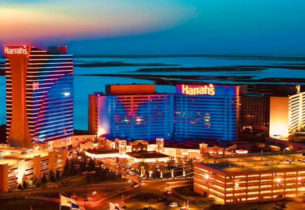 View of the Harrah's resort in Atlantic City
