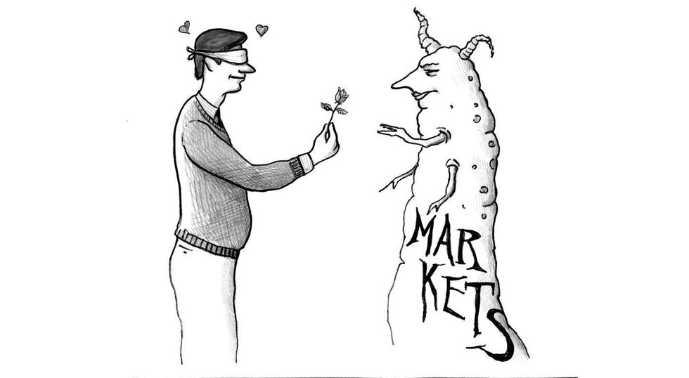 Market Lovers Mustn't Hate What Their Love Needs
