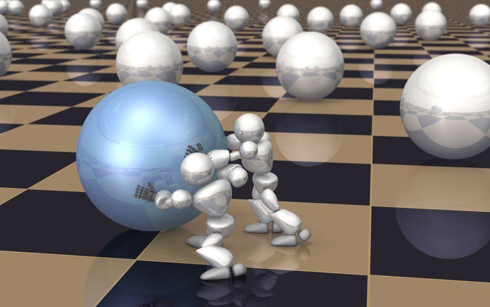 Man Versus Machine: When It Comes to Scale, It's Advantage Computers