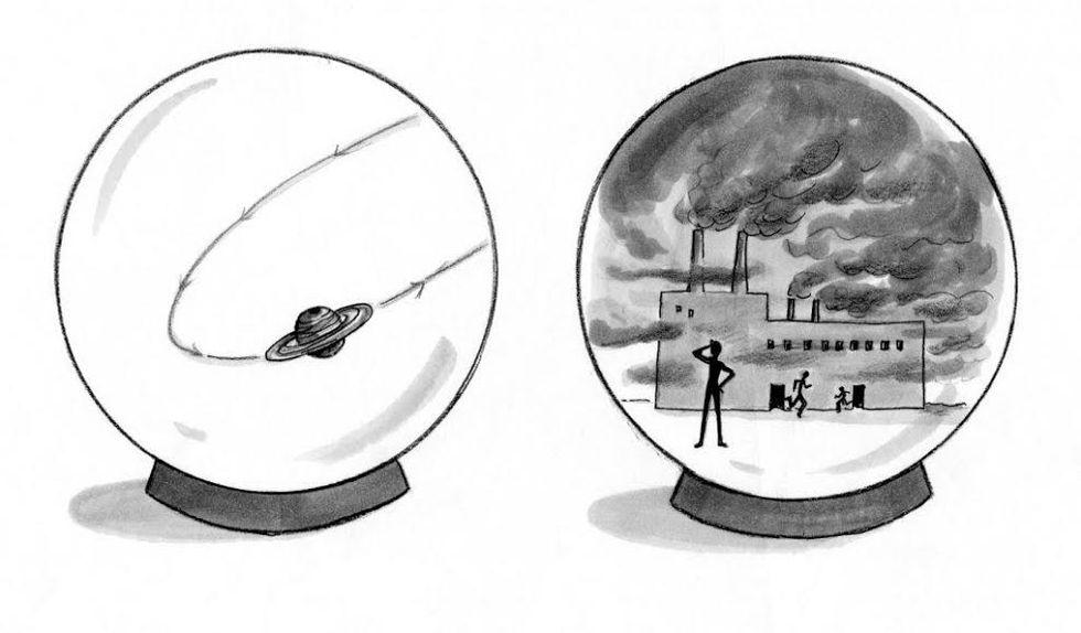 Modeling The Muddling Masses: The Newton vs Darwin Pattern