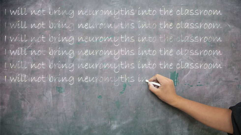 It's time for teachers to wake up to neuromyths