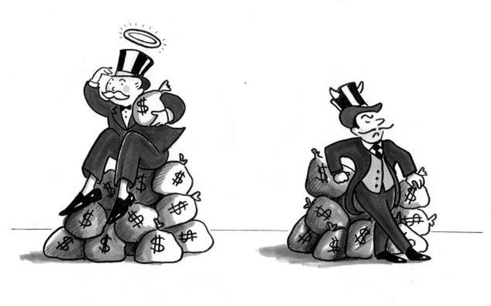 The 1% and Good Rich vs Bad Rich