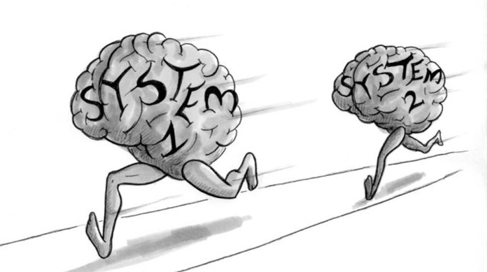 Kahneman's Mind-Clarifying Strangers: System 1 & System 2