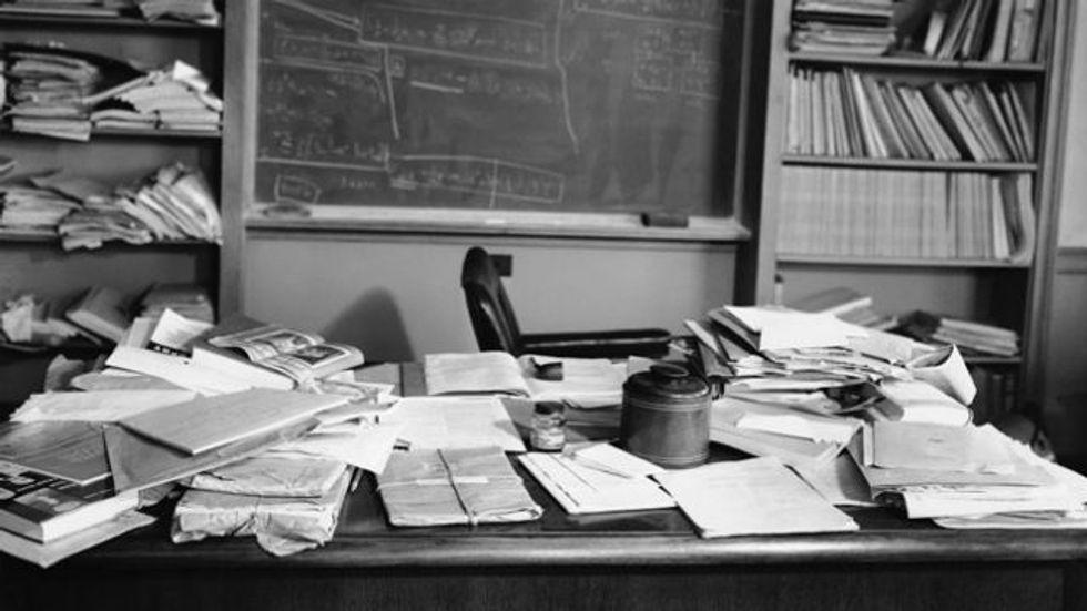 Einstein's Last Desk